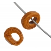 Ceramic Bead Washer 6X2.5mm Ochre
